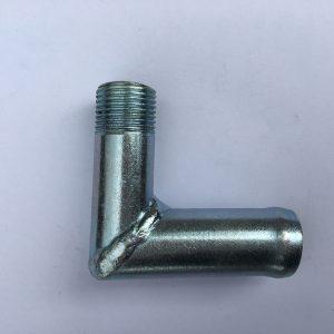 Угольник с резьбой металлический d=16*М16 ГАЗ-3302