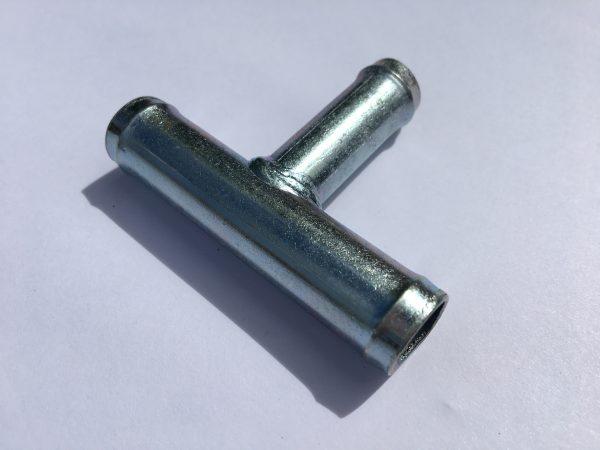 Тройник металлический d=20*10*20 угол 90°