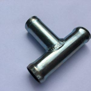 Тройник металлический d=18*16*18 угол 90°