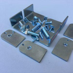 Кронштейн крепления глушителя 3302 комплект (нового образца)
