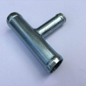 Тройник металлический d=18*14*18 угол 90°